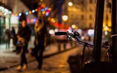 come andare in bici elettrica di notte